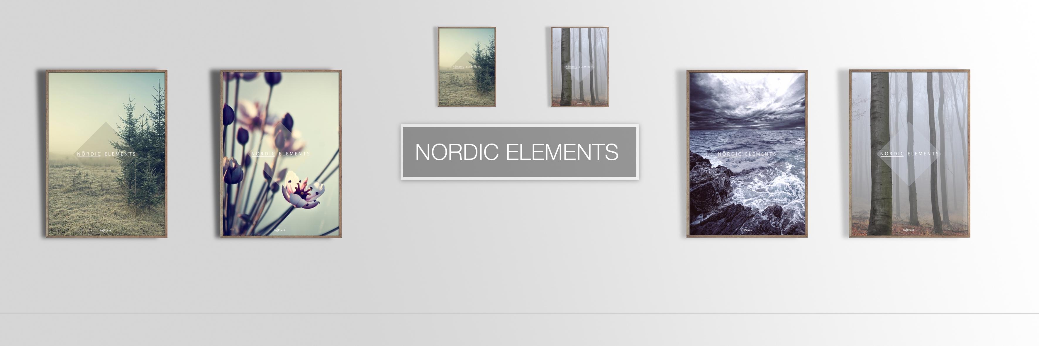 De smukke naturmotiver i Nordic Elements serien passer i enhver indretning