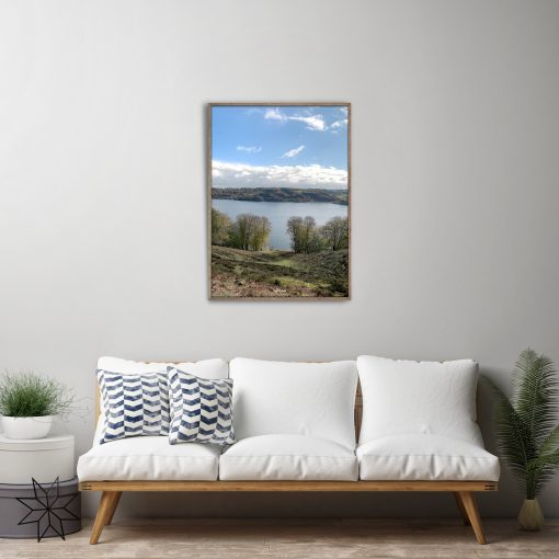 Lake view photo art plakat