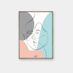 Line art fra byFrank