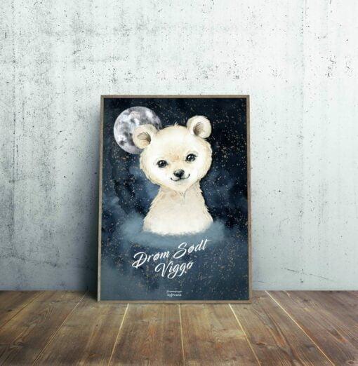 Isbjørn Drømmefanger byfrank